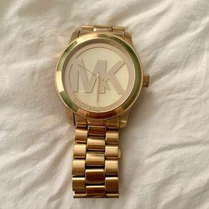 MK Goldtone Michael Kors Watch 38mm